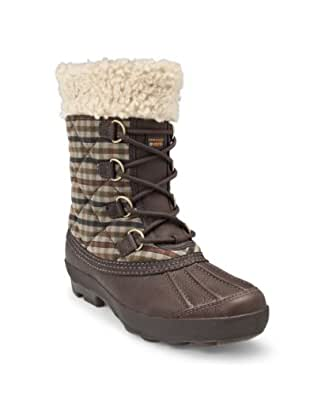 UGG Australia Women's Newberry Leather Boots,Stout Plaid,6 US