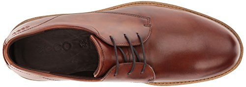 ECCO Men's Findlay Plain Toe Tie Oxford, Cognac, 42 EU / 8-8.5 US by ECCO (Image #8)