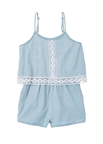 a33826r-blu-10-12g-chilipop-shorts-romper-for-girls-lightweight-denim-with-lace-trim