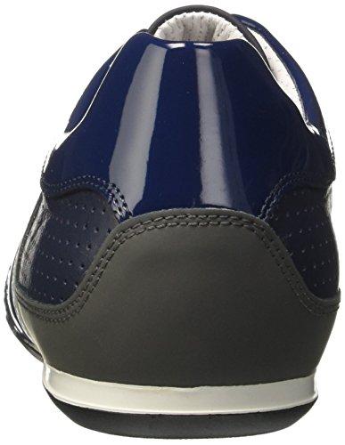 Bikkembergs Springer 099, Zapatillas de Estar por Casa para Hombre Blu (Blue/grey)