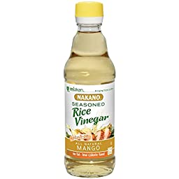 Nakano Rice Vinegar, Mango 12 Oz (Pack of 2)