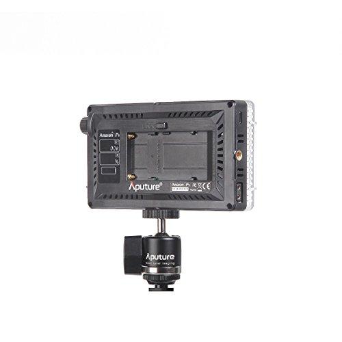 Aputure Amaran AL-F7 3200-9500K CRI/TLCI 95 LED panel LED video camera light (Aputure H198 Upgrade Version) with DigiKit cleaning cloth by Aputure (Image #6)