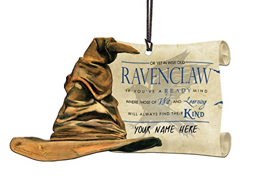 (Trend Setters Harry Potter Sorting Hat Ravenclaw Personalized Hanging Acrylic)