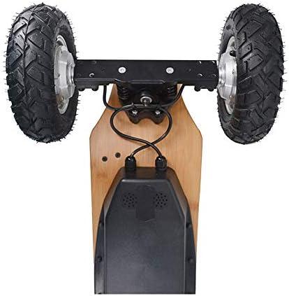 Cruiser Électrique Planche À roulettes, Tout-Terrain Mountain Board, Conseil Hub Double Drive, Professional Longboard, 11000Mah, 40KM / H - 200KG - Double Moteur 800W * 2-