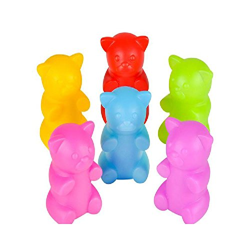 2'' Rubber Gummy Bears by Bargain World