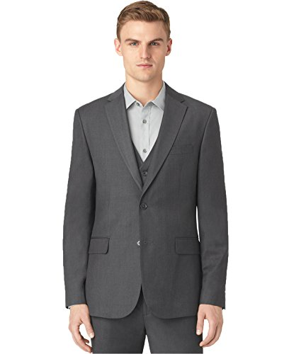 Calvin Klein Men's Granite Heather Jacket (XL, Granite) by Calvin Klein