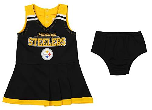 Outerstuff NFL Toddler Girls Team Color Cheerleader Dress Set 179e3d172