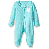 Carter's Baby Girls' Interlock 115g253, Turquoise, 9M