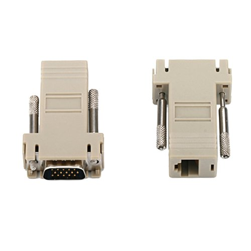 HDE RJ45 Ethernet Connector Adapter
