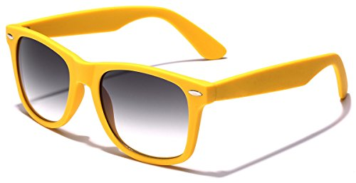 Colorful Retro Fashion Sunglasses - Smooth Matte Finish Frame - - Store Sunglasses Best Online