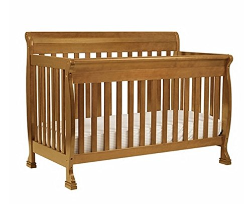 - DaVinci Kalani 4-in-1 Convertible Crib Set with Full/Twin Size Rail Conversion Kit in Chestnut