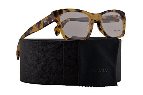 Prada PR22SVF Eyeglasses 54-16-140 Medium Havana w/Demo Clear Lens 7S01O1 VPR 22S PR 22SV VPR22S VPR22S-F