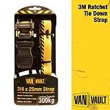 Van Vault Polyester Webbing Ratchet Strap 3.0m x