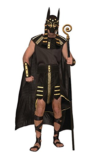 Mythical Creatures Anubis Costume - Egyptian God - Fits up to 42