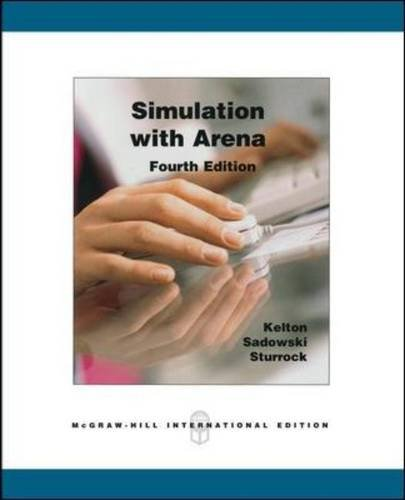 simulation with arena 1 what is simulation 2 fundamental simulation concepts 3 a guided tour through arena 4 modeling basic operations and inputs 5 modeling detailed operations 6 statistical design and analysis of terminating simulations 7 intermediate modeling and steady-state statistical analysis 8 entity transfer 9 a sampler of further modeling issues and techniques 10 arena integration and customization 11 .