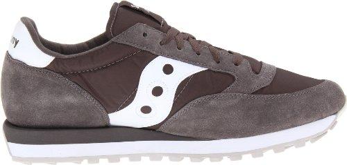 Saucony - Zapatillas de running de nailon para hombre gris gris Charcoal/White