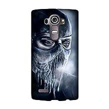 LG G4 Protective Case, mortal kombat sub-zero ice Game Protective Case Bumper [Anti-Slip] [Good Grip] Design by [David Reed]