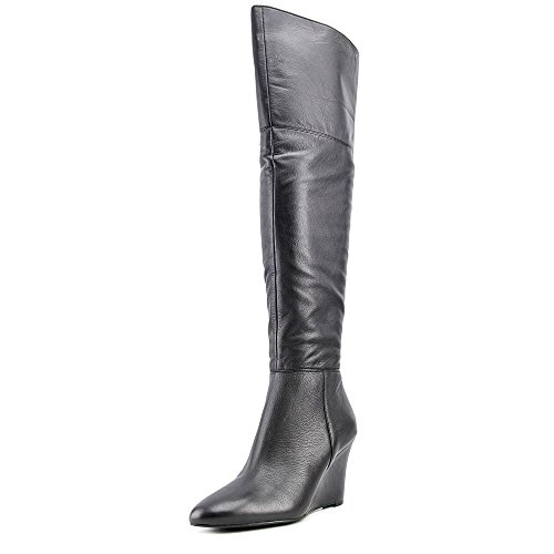 Via Spiga Kennedy Women US 8.5 Black Over The Knee Boot by Via Spiga