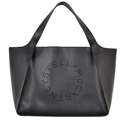 502793w99231000 Stella Negro Bolso Poliéster Mccartney Tipo Shopper Mujer ffxwtEUqr