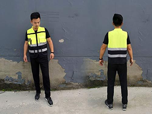 GJDAC Chaleco Reflectante Vesta para Correr, Ciclismo, Ciclismo, el Mejor Equipo de Seguridad para Hombres y Mujeres 14