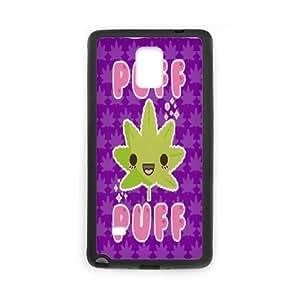 Fggcc Marijuana Leaf Leaves Pot Weed Pattern Cover Case for Samsung Galaxy Note 4,Marijuana Leaf Leaves Pot Weed Note4 Case (pattern 12)