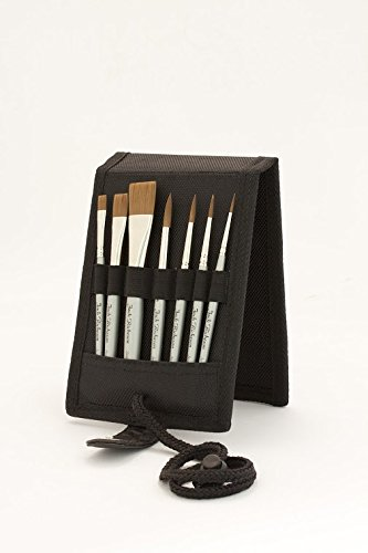 Jack Richeson 713995 Plein Air Travel Brush Set