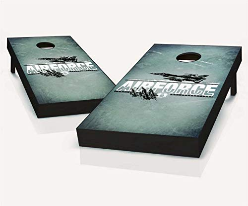 (Skip's Garage US Air Force Imprint Cornhole Set - 2x4 (24