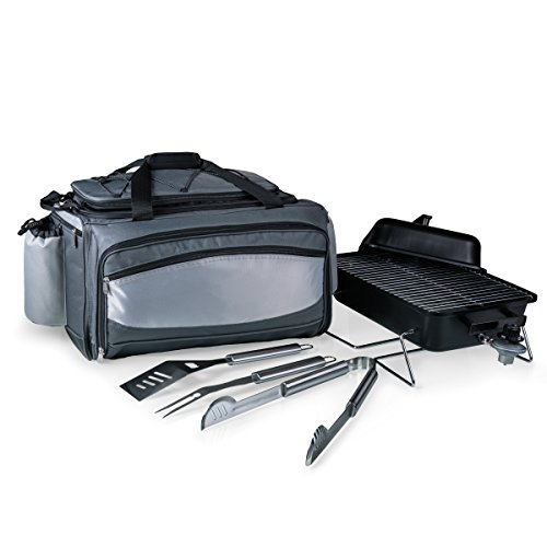 - ONIVA - a Picnic Time Brand Vulcan All-In-One Tailgating Cooler/BBQ Set
