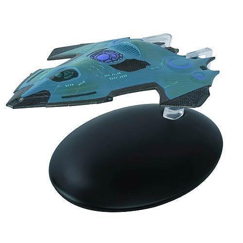 Star Trek Starships USS Relativity Vehicle with Collector Magazine