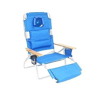 Amazon.com : Ostrich Deluxe 3N1 Chair, Blue : Lawn Chairs : Garden U0026 Outdoor
