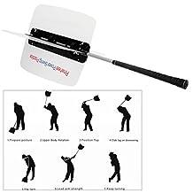 1pc Power Swing Fan Golf Club Swing Trainer Power Resistance Practice Training Aid