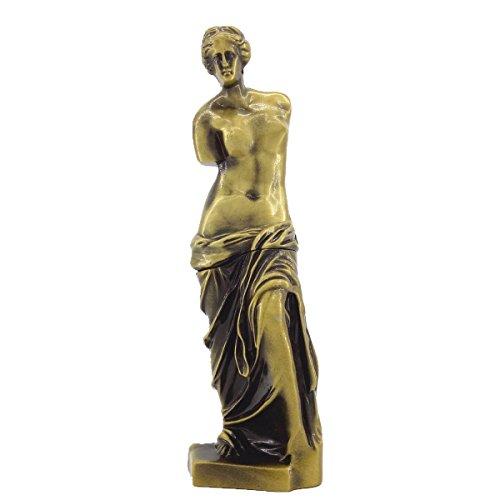 Toperkin Metal Figurine Venus De Milo Statue Home Decor Sculptures Statues TPSD-003