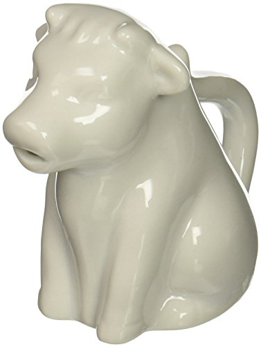 Abbott Collection China Cow Creamer, White - Cow Creamer Pitcher