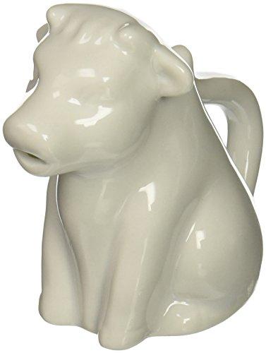 Abbott Collection China Cow Creamer, White - China Creamer Pitcher