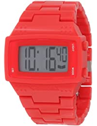 Vestal Men's DBPC004 Dolby Plastic Gloss Red Positive Display Watch