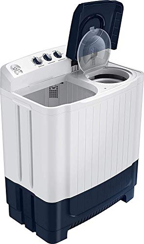 Samsung 8.5 Kg Semi-Automatic Top Loading Washing Machine (WT85R4000LL/TL, Light Grey) 2021 June Semi-automatic top-loading washing machine; 8.5 kg capacity Best Wash Quality and Water efficient Product Warranty: 2 year on product, 5 years on motor Energy Efficient Model comes with 5 star rating