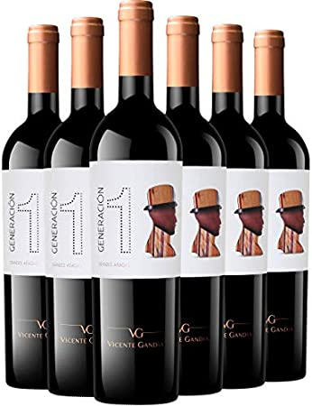 Generación 1 Generación 1 Grandes Añadas Vino Tinto 6 Botellas - 750 ml