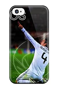 Sanp On Case Cover Protector For Iphone 4/4s (sergio Ramos)