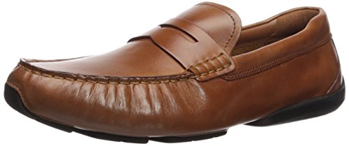Cole Haan Men's Branson Driver Penny Loafer, British Tan, 11 Medium US Brown Penny Loafer