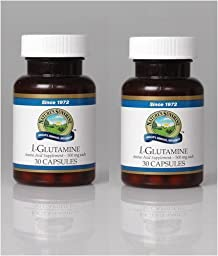 Naturessunshine l-Glutamine Supports Nervous System Amino Acid Supplement 30 Capsules (Pack of 2)