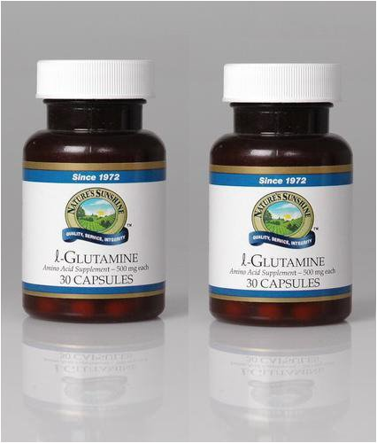 Nature's Sunshine L-Glutamine 30 Capsules (Pack of 2)