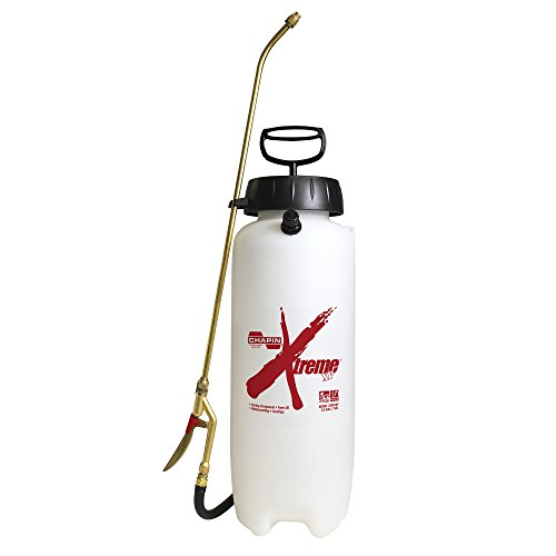 Chapin 22049XP Extreme Industrial Concrete Sprayer, 3 gal, Translucent White