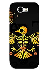 Galaxy Note 2 JSIMIgy1501gMNRF Above The Cyrrus Silicone Gel Case Cover. Fits Galaxy Note 2