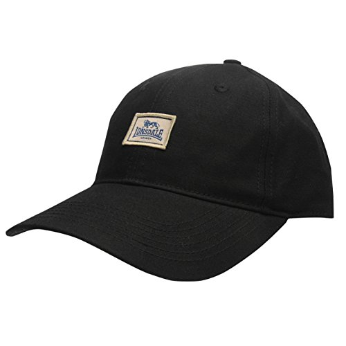 negro LONSDAL Talla hombre béisbol Gorra Negro de para única FpqpYCRw