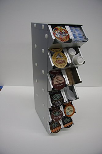 Two Bad Cats G36h2w0c Storage Display Rack For Keurig Single Serve Cup Holds 48 Single Serve Cup