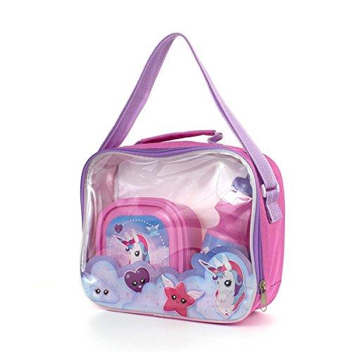 Lunsj Sett Flerfarget Zone Bag Barn Enhjørning Rosa q7PqWatXY