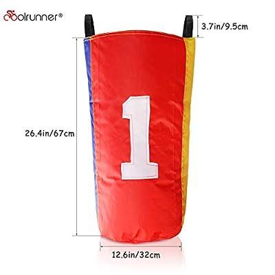 Coolrunner 4 Pack Sack Race Bags 26.4