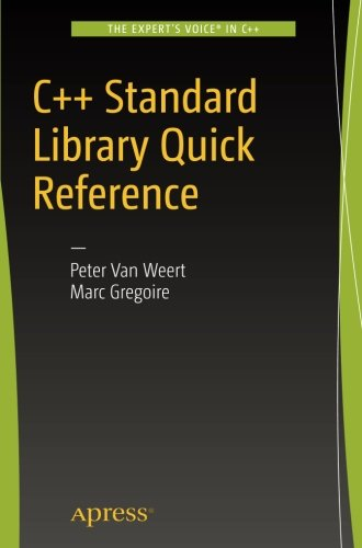 C++ Standard Library Quick Reference by Apress