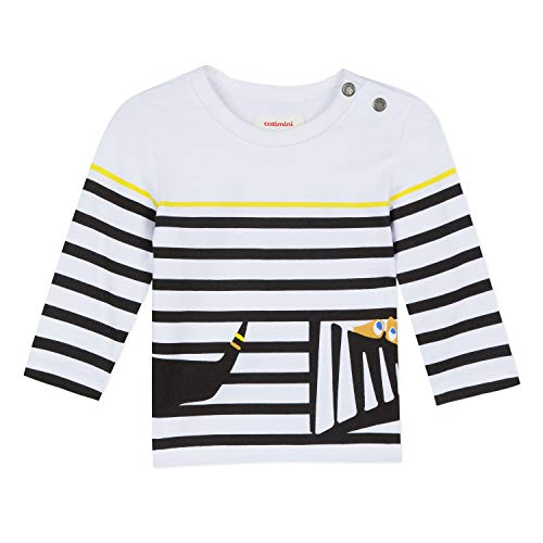 Catimini Boys Striped Long Sleeved Shirt with Fun Pattern (6 Months)
