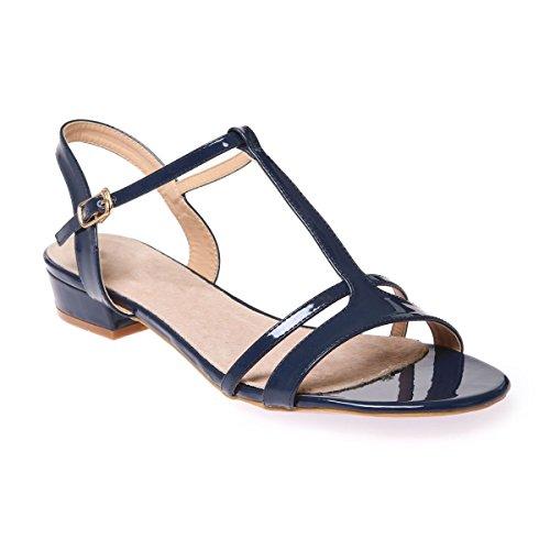 La Modeuse - Sandalias de vestir para mujer Azul
